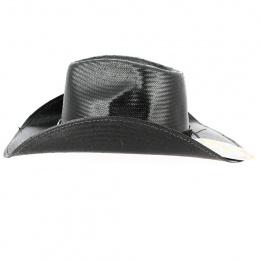 Chapeau Cowboy Black Hills Panama Noir - Bullhide