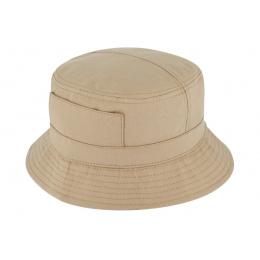 Bob - hat in beige fabric