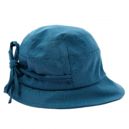 Rain hat French creation turquoise T57