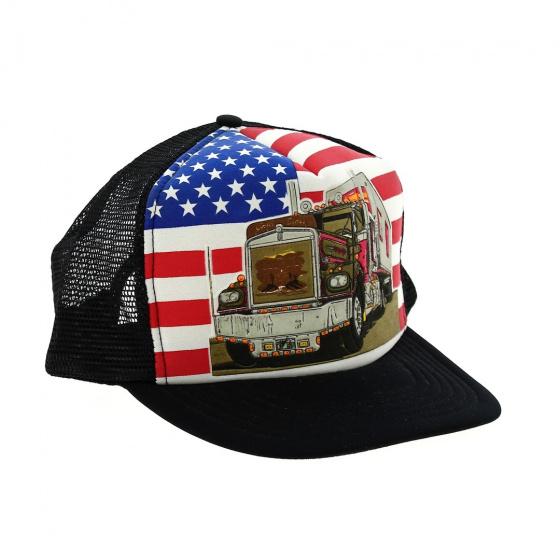 Casquette Camion Américain