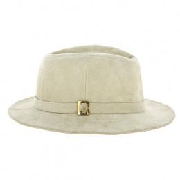 Traveller Manto Alcantara Beige Hat - Traclet