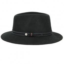 Chapeau Fedora Widem Feutre Poil Noir - Traclet