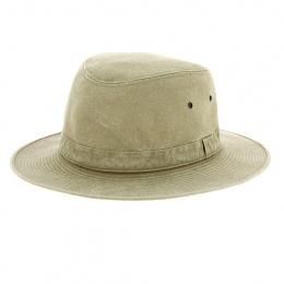 copy of Brisbane Safari Hat Khaki Cotton-Crambes
