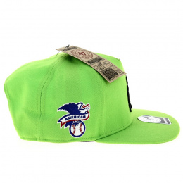 Casquette Strapback New York Yankees Vert Fluo - 47 Brand