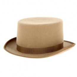 Chapeau Haut de Forme Feutre Laine Lion - Traclet