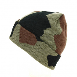 Bonnet Revers Camouflage - Traclet