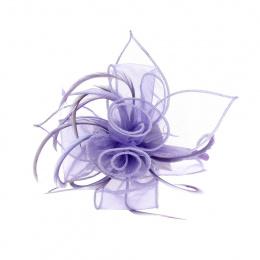 Serre Tête Cérémonie Cécily Pastel Violet - Traclet