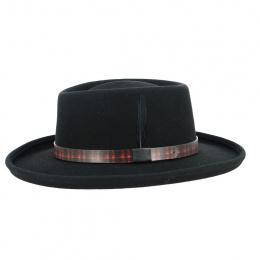 Chapeau Gambler Woolfelt noir