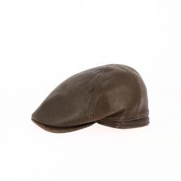 Casquette cache-oreilles Gatsby marron - Traclet