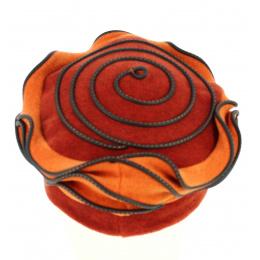 Béret Polaire Femme Lila Orange - Traclet