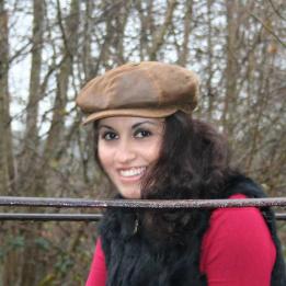 Casquette Sara cuir traclet