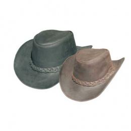 Chapeau cuir BRUMBY