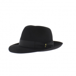 Hat man Borsalino black