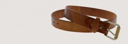 Belt, suspenders, cufflinks
