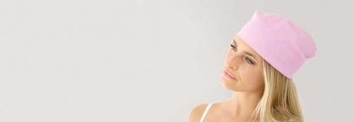 Foulards et chapeaux chimiothérapie